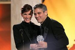 Джулия Робертc рассказала, как подружилась с Джорджем Клуни