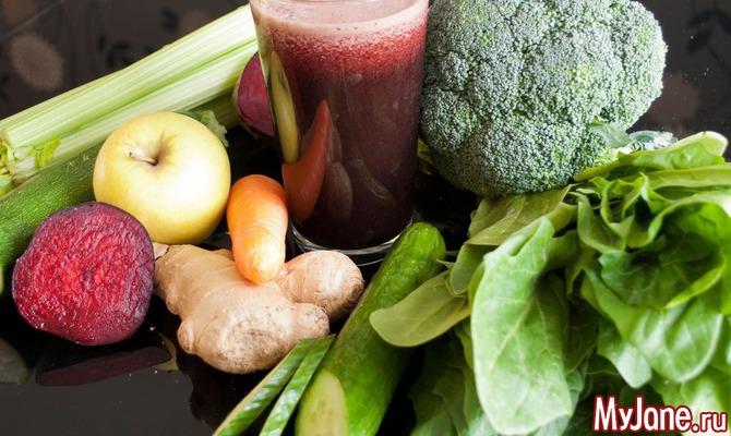 Весенний детокс: 10 лучших очищающих продуктов