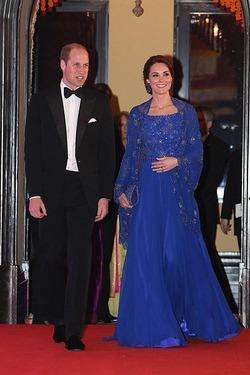 Кейт Миддлтон наповал сразила платьем от Jenny Packham