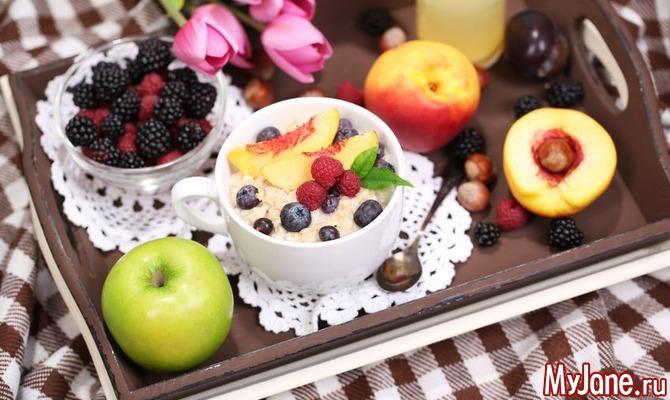 Завтраки, полезные для здоровья
