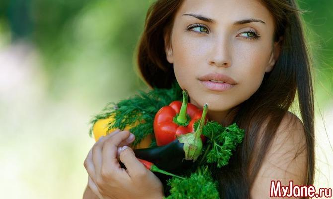 Счастье в овощах и фруктах!