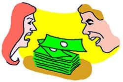 Ссоры из-за денег