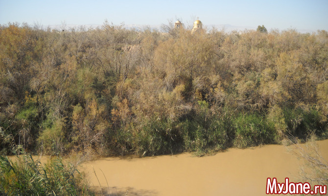 Река Иордан: взгляд со стороны Иордании
