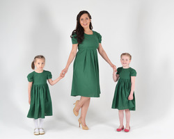 Платье, как у мамы! Модный семейный  стиль