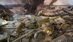 """Уникальная трёхмерная панорама: """"Москва. 1941. Контрнаступление"""""""