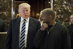 Дональд Трамп встретился с Канье Уэстом