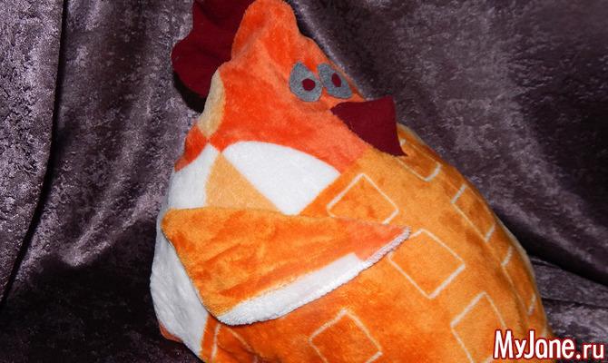Подушка-петушок в подарок