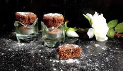 Шоколадно-банановые мини-кексы