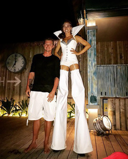 Дмитрий Тарасов празднует развод на Мальдивах