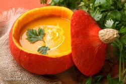 Простой суп-пюре из тыквы