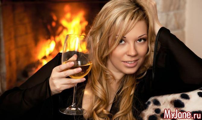 Не пей вина Гертруда! Спиртные напитки для женщин