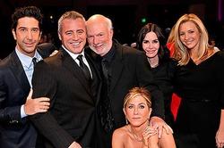 Повзрослевшие «Друзья» встретились на NBC (фото)