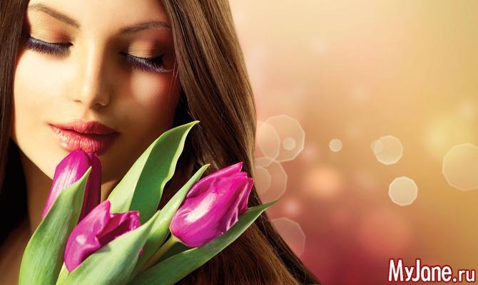 Три весенних цветка