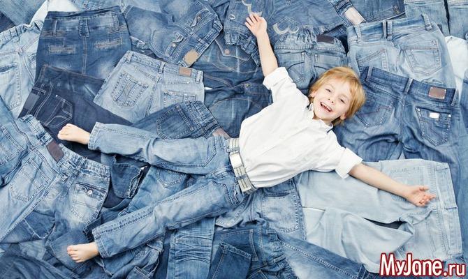 Новая жизнь для старых джинсов