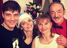 Лиза Боярская с мужем и родителями фото