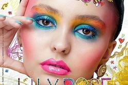 Лили-Роуз Депп на обложке журнала LOVE