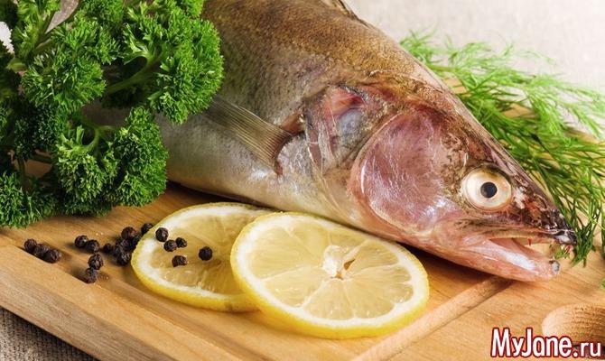 Рыба под соусами
