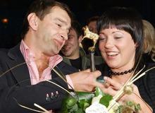 Константин Хабенский с первой женой Анастасией Смирновой фото