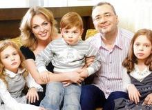 Константин Меладзе с первой женой Яной и детьми фото