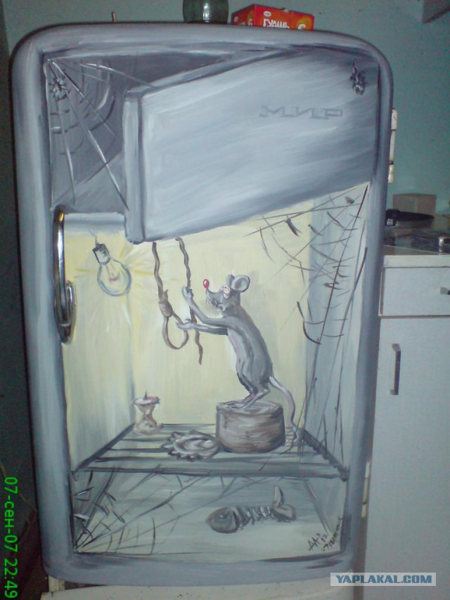 Рисунки для холодильника своими руками 25
