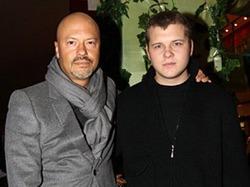 Федор Бондарчук налаживает отношения с сыном