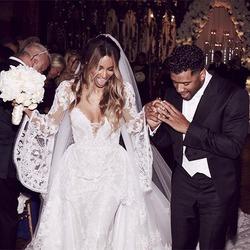 Певица Сиара вышла замуж
