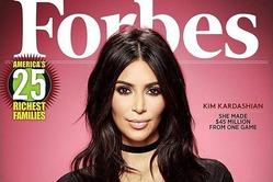 За что Ким Кардашян пригласили на обложку Forbes