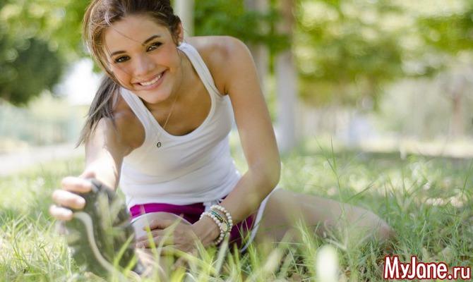 Упражнения на свежем воздухе – рай для ленивых!