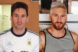 Футболист Лионель Месси перекрасился в блондина