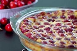 Французский вишневый пирог