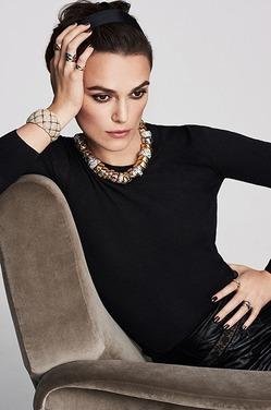 Кира Найтли – снова лицо «Шанель»
