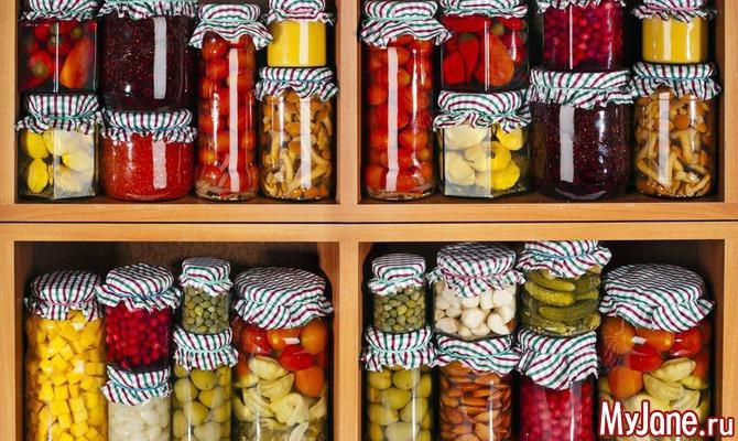 Запасы на зиму из овощей