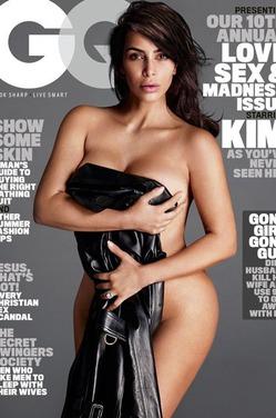 Ким Кардашян похудела благодаря обнаженным съемкам