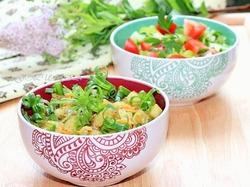 Жареный картофель в индийском стиле