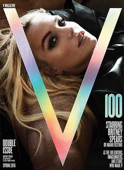 Бритни Спирс украсила обложку V Magazine