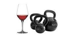 Бокал красного вина приравнивается к часу занятий спортом
