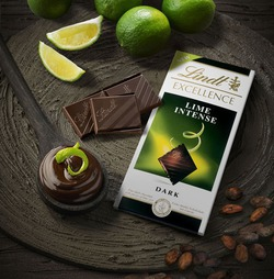 Lindt Excellence Лайм