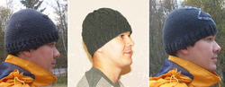 Три шапочки. Вязание крючком