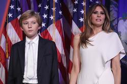Мелания Трамп с сыном не намерены переезжать в Белый дом