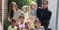 Джоли не пустит Питта к детям в День благодарения