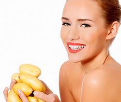 Польза масок из картофеля для лица. Рецепты народной косметики.
