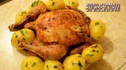 Вкусная Курица в духовке   Как приготовить курицу