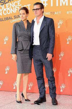 Брэд Питт отдал Джоли всех детей без суда и следствия