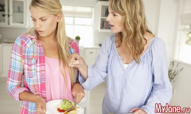 Питание в период переходного возраста
