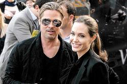 Анджелина Джоли сбежала с детьми