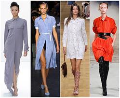 Платье-рубашка: модная вещь на все случаи жизни