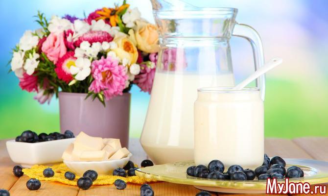 На основе молока