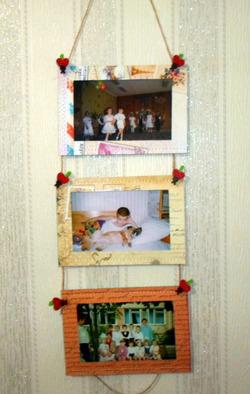 Рамки для фотографий. Мастер-класс для занятий с детьми