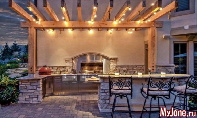 Летняя кухня на даче: не роскошь, но необходимость!
