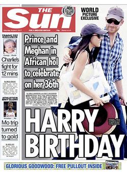 Принц Гарри и Меган Маркл 3 недели прожили вместе в Африке